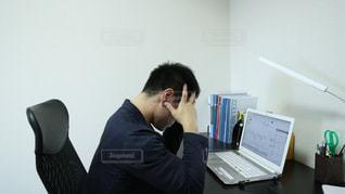 株価暴落!の写真・画像素材[1530583]