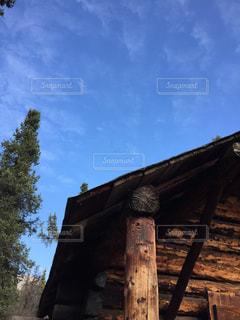 丸太小屋の写真・画像素材[2829632]