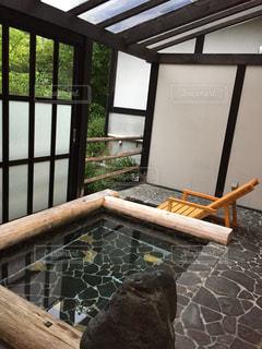 窓とお風呂の写真・画像素材[2854226]