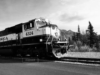 アラスカ鉄道、デナリの写真・画像素材[2911119]