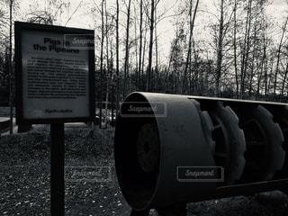 アラスカパイプラインの写真・画像素材[2927997]