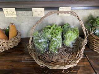食べ物,牧場,野菜,かご,食品,珍しい,食材,採れたて,フレッシュ,ベジタブル,ルッコラ,モーウィ