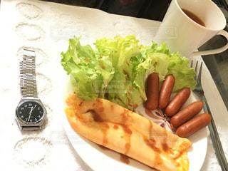 朝食,ランチ,腕時計,時計,卵,ブランチ