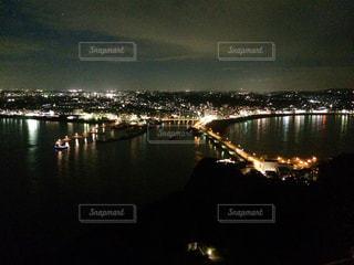 海,夜景,島,江ノ島,眺望,神奈川県,藤沢市,展望灯台