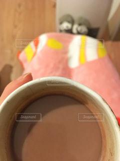 マグカップのアップの写真・画像素材[953694]
