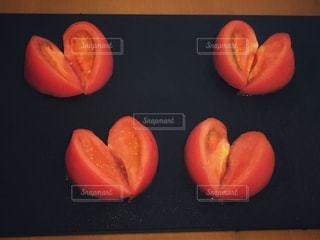 美味しいハート型♡の写真・画像素材[1084095]