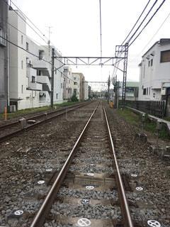 線路は続くよ。の写真・画像素材[1239514]