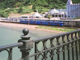 列車に胸キュン◎の写真・画像素材[1271217]