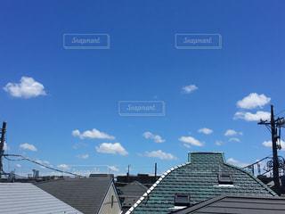 ひつじ雲の写真・画像素材[2008695]