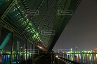 四日市ドーム夜景の写真・画像素材[2728662]