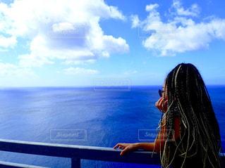 海,空,海外,青,旅行,未来,グアム,夢,ポジティブ,目標,可能性