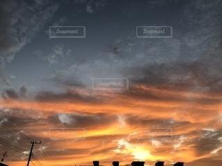 自然,空,秋,屋外,雲,幻想的,不思議,夕焼,インスタ映え