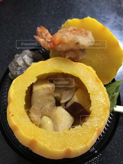 食べ物,癒し,ハロウィン,美味しい,美味,カボチャ,秋の味覚,美味しいもの,食欲の秋,具沢山,カボチャ料理,秋映え,金魚みたいなエビ
