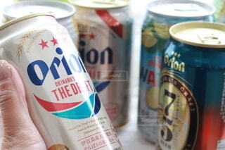 オリオンビール飲むぞー!の写真・画像素材[4941603]