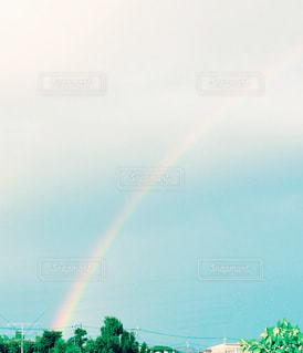 空に虹の写真・画像素材[1356122]