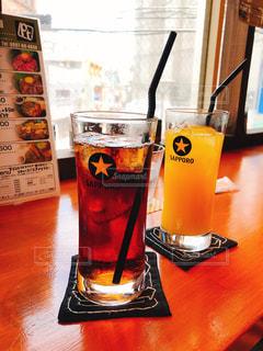 涼,オレンジジュース,美味い,水分補給,ウーロン茶,熱中症対策