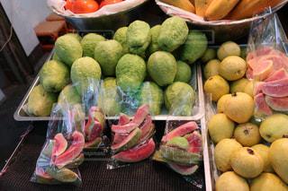 食べ物,デザート,フルーツ,果物,市場,台湾,新鮮,食材,パパイヤ,カットフルーツ,フルーツショップ