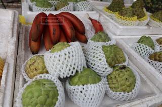 食べ物,フルーツ,果物,市場,台湾,新鮮,バナナ,赤いバナナ,仏頭果