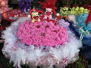 ピンク,花束,プレゼント,薔薇,可愛い,バレンタイン