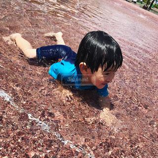 子ども,幼児,kids,少年,水遊び,夏バテ,おとこのこ,熱中症対策