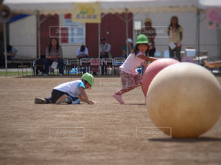 幼稚園運動会の写真・画像素材[2138446]