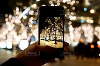 風景,スマホ,ぼかし,樹木,イルミネーション,ライトアップ,iphone,グランフロント,クリスマス ツリー