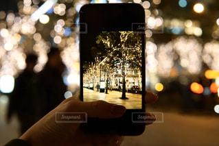夜,ぼかし,樹木,イルミネーション,都会,ライトアップ,クリスマス,ツリー,明るい,通り,グランフロント