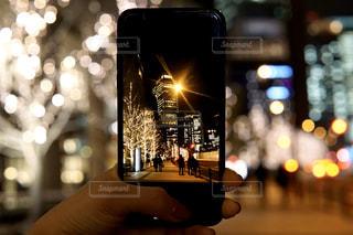ぼかし,イルミネーション,ライトアップ,人,高層ビル,iphone,明るい,グランフロント
