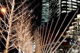 建物,夜,屋外,タワー,イルミネーション,都会,ライトアップ,高層ビル,クリスマス,ツリー,明るい,ダウンタウン,グランフロント
