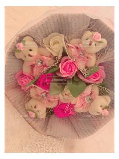 くまの花束の写真・画像素材[1370548]