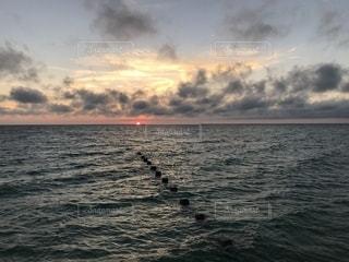 自然,風景,海,空,海外,ビーチ,雲,夕暮れ,水面,海岸,夕陽