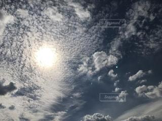 空,雲,日差し