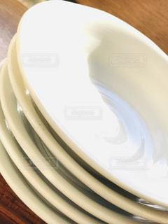 屋内,白,影,テーブル,皿,セラミック,重ね,磁器