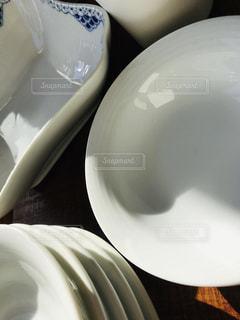 屋内,白,影,食器,セラミック,重ね,磁器