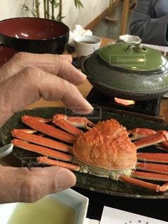 男性,食べ物,皿,人,レストラン,カニ,京都府,天の橋立,宮津