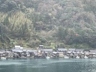 伊根町の舟屋の光景の写真・画像素材[1669335]