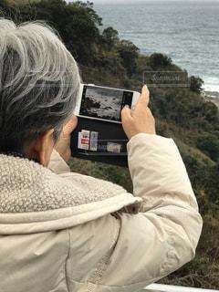 日本海を望むの写真・画像素材[1673836]