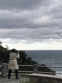 冬の日本海の写真・画像素材[1673921]