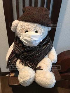 マスクで風邪をSTOPの写真・画像素材[1686672]