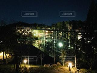 水景園観月橋の神秘的な姿の写真・画像素材[1690700]