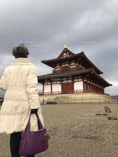 平城京跡大極殿の写真・画像素材[1750773]
