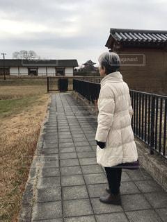 平城京跡にての写真・画像素材[1750809]