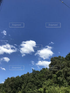 秋の空の写真・画像素材[2438761]