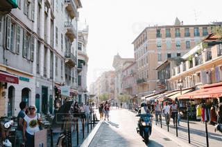 風景,街並み,バイク,街,観光,旅行,フランス,町,海外旅行,ニース
