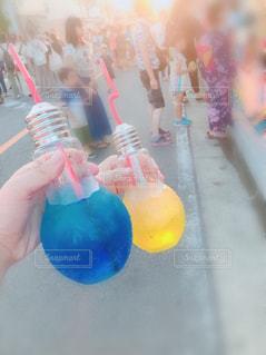 夏祭りとソーダの写真・画像素材[1413638]