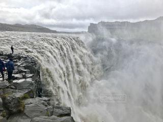 瀑布の写真・画像素材[1449380]