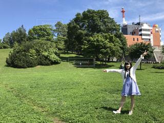 有名な某公園に行ってきました!の写真・画像素材[1380399]