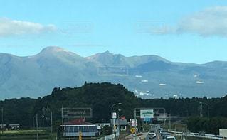 自然,空,秋,山,高原,景観,那須