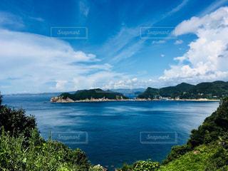 和歌山県日高郡由良町にある十九島の写真・画像素材[1391965]