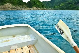 1人ボートの写真・画像素材[1385821]